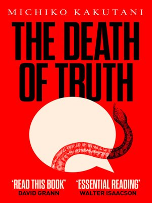 cover image of The Death of Truth