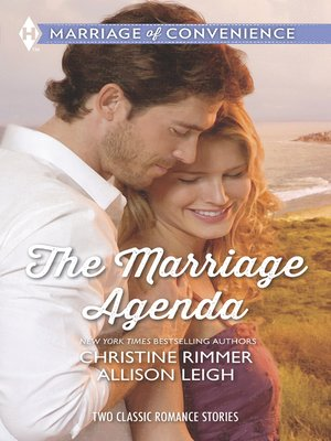 cover image of The Marriage Agenda