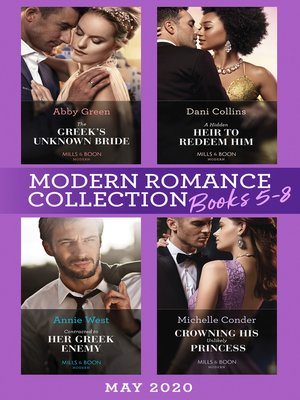 cover image of Modern Romance May 2020 Books 5-8
