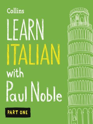 cover image of Learn Italian with Paul Noble, Part 1