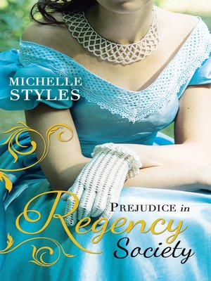 cover image of Prejudice in Regency Society