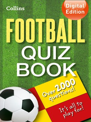 cover image of Collins Football Quiz Book