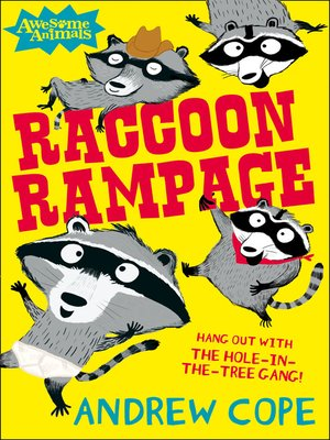 cover image of Raccoon Rampage