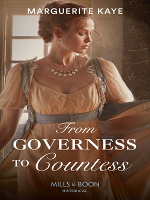 cover image of From Governess to Countess