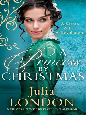 cover image of A Princess by Christmas