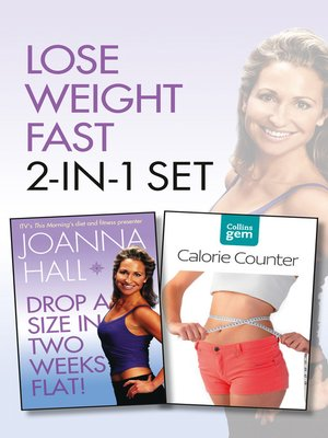 cover image of Drop a Size in Two Weeks Flat! plus Collins GEM Calorie Counter Set