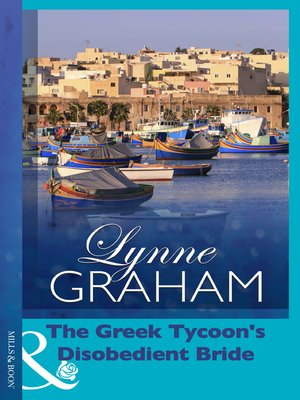 cover image of The Greek Tycoon's Disobedient Bride