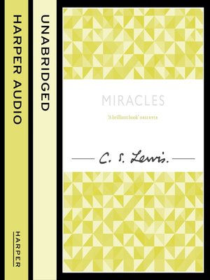 cover image of Miracles (C. S. Lewis Signature Classic)
