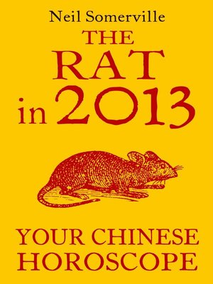 cover image of The Rat in 2013