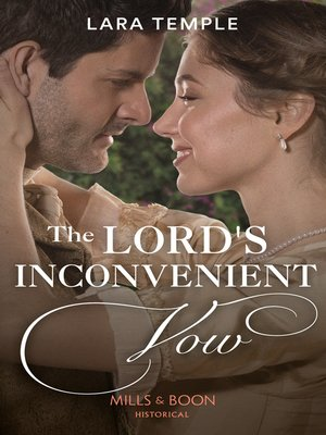 cover image of The Lord's Inconvenient Vow