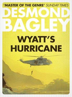 cover image of Wyatt's Hurricane