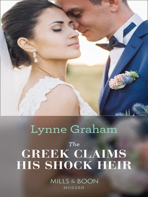 cover image of The Greek Claims His Shock Heir