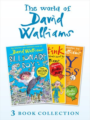 cover image of The World of David Walliams 3 Book Collection (The Boy in the Dress, Mr Stink, Billionaire Boy)