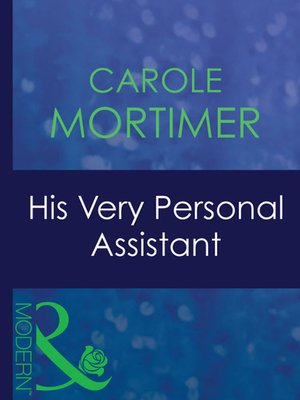 cover image of His Very Personal Assistant
