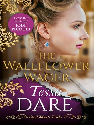 cover image of The Wallflower Wager