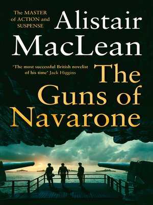 cover image of The Guns of Navarone
