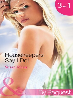 cover image of Housekeepers Say I Do!