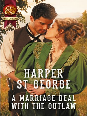 cover image of A Marriage Deal With the Outlaw