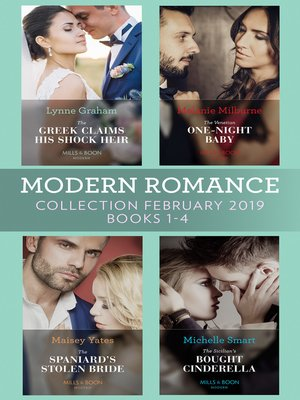 cover image of Modern Romance February Books 1-4