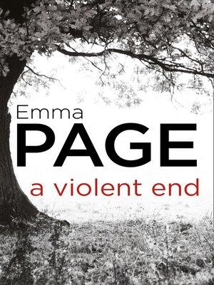 cover image of A Violent End