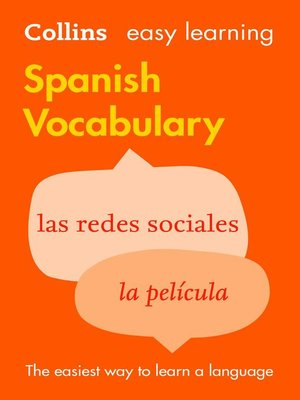 cover image of Easy Learning Spanish Vocabulary