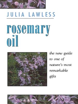 cover image of Rosemary Oil