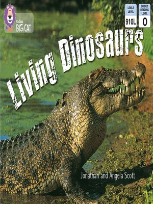 cover image of Collins Big Cat – Living Dinosaurs