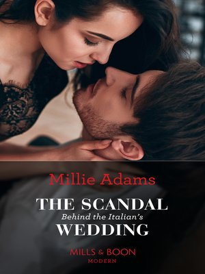 cover image of The Scandal Behind the Italian's Wedding