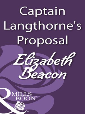 cover image of Captain Langthorne's Proposal