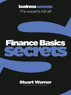 cover image of Finance Basics