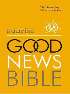 cover image of Sunrise Good News Bible (GNB)