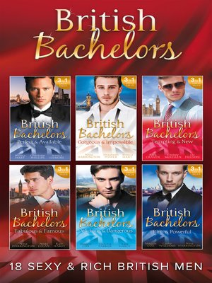 cover image of The British Bachelors Collection