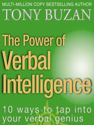 cover image of The Power of Verbal Intelligence