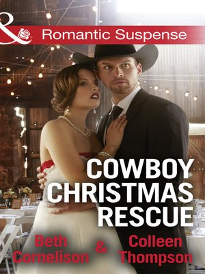 cover image of Cowboy Christmas Rescue