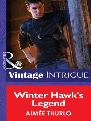 cover image of Winter Hawk's Legend