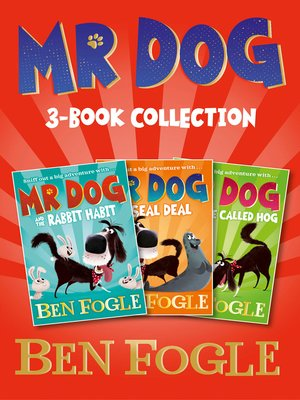 cover image of Mr Dog 3-Book Collection