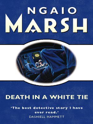 cover image of Death in a White Tie