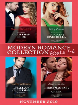cover image of Modern Romance November 2019 Books 1-4