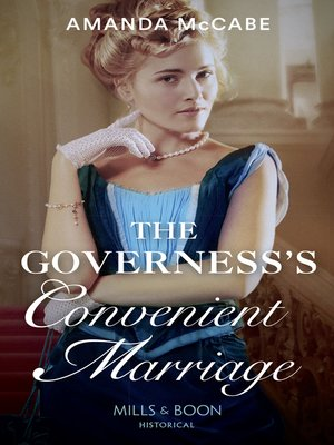 cover image of The Governess's Convenient Marriage
