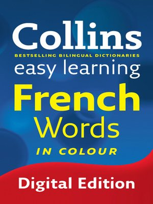 cover image of Collins Easy Learning French Words