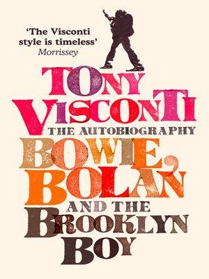 cover image of Tony Visconti