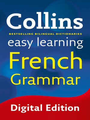 cover image of Collins Easy Learning French Grammar