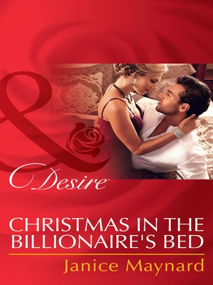 cover image of Christmas in the Billionaire's Bed