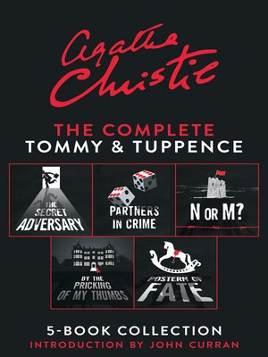 cover image of The Complete Tommy and Tuppence 5-Book Collection
