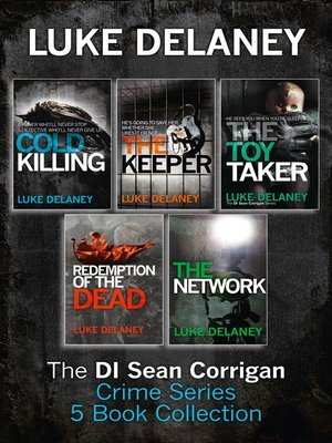 cover image of Sean Corrigan Crime Series Books 1-3