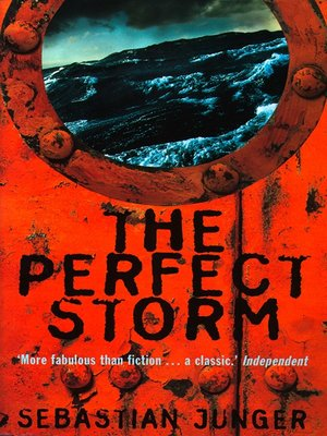 cover image of The Perfect Storm