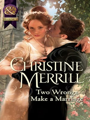cover image of Two Wrongs Make a Marriage
