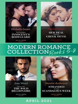 cover image of Modern Romance April 2021 Books 5-8