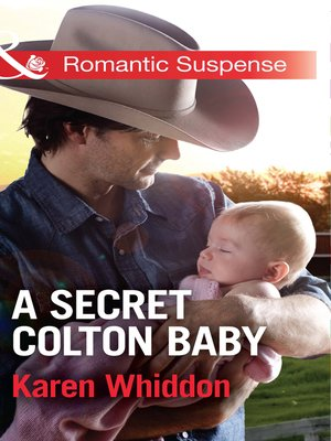 cover image of A Secret Colton Baby