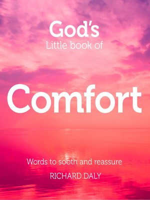 cover image of God's Little Book of Comfort